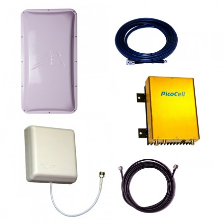 Репитер 4G Picocell 2500 SXA с комплектом антенн (300 м2) - фото 1